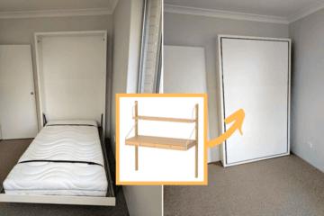 foldable table ikea svalnas