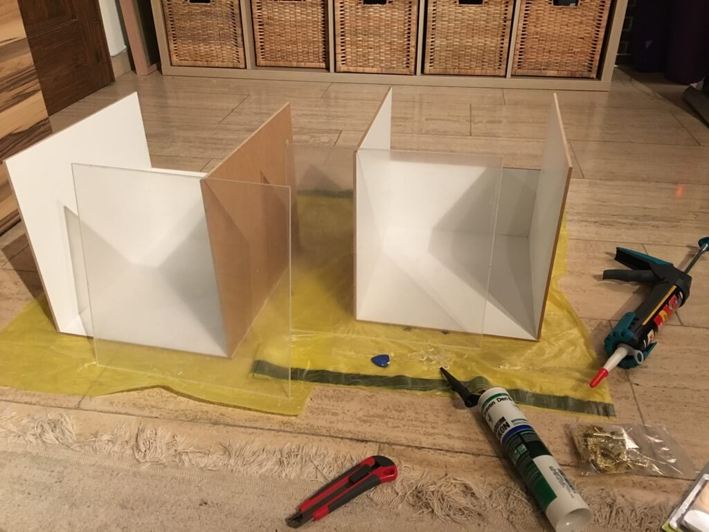 sand bath drawers