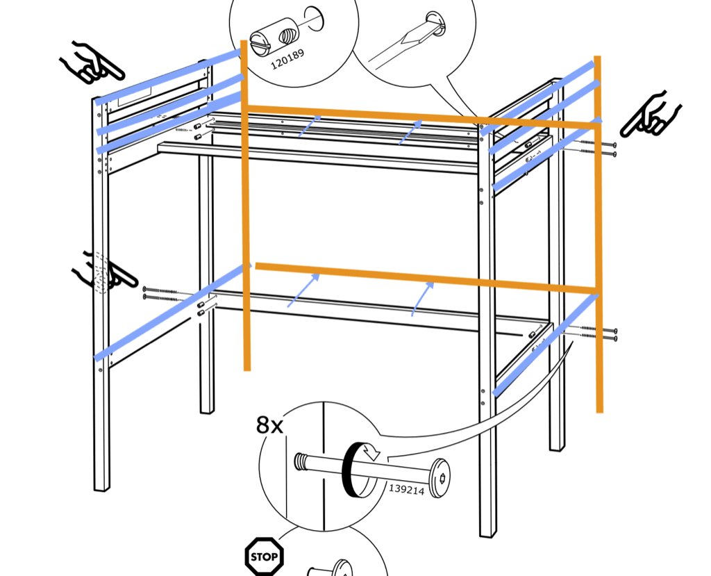 IKEA STORA instructions