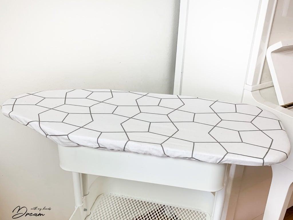 IKEA RÅSKOG + JÄLL ironing board on wheels