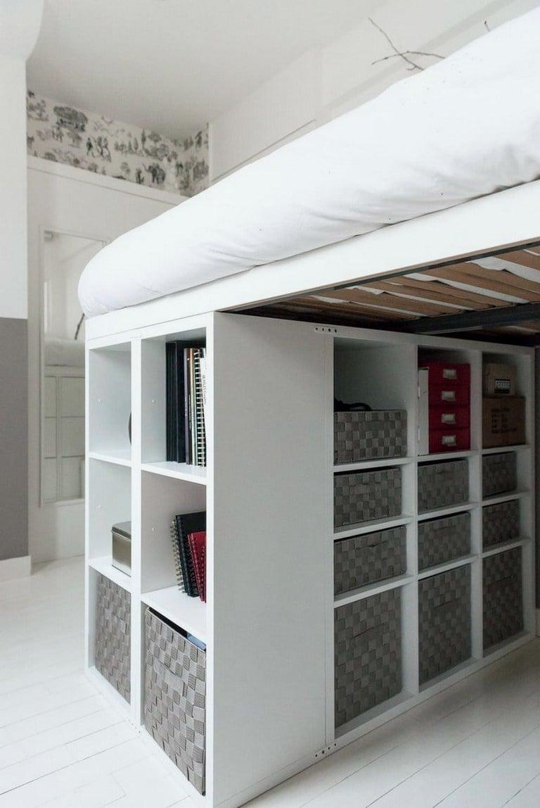 KALLAX loft bed