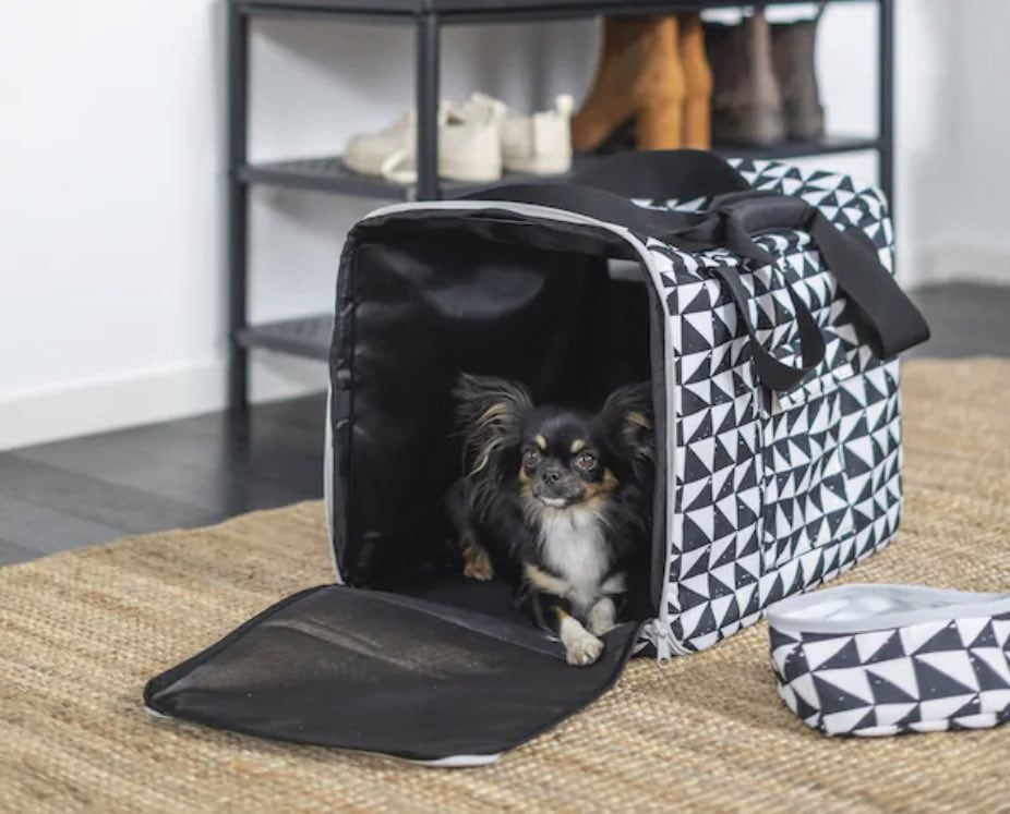 LURVIG IKEA Pet Collection carrier bag and travel bowl
