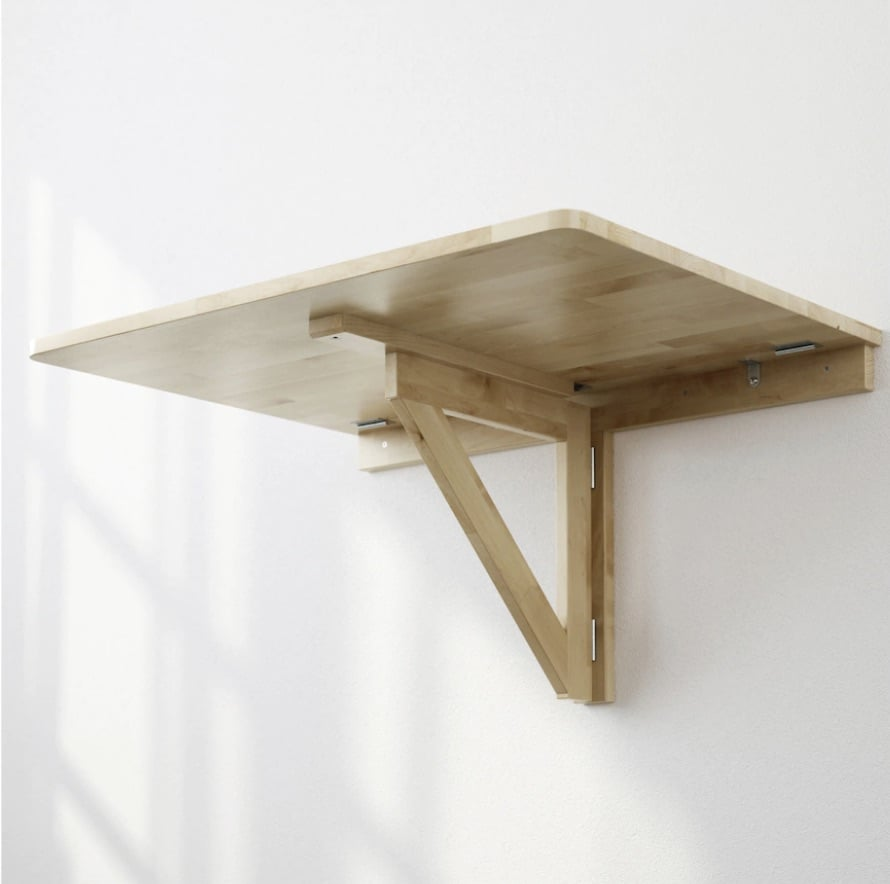 drop leaf table ikea norbo