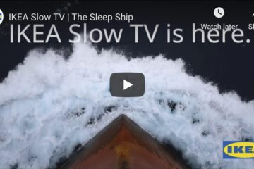 slow tv IKEA sleep ship