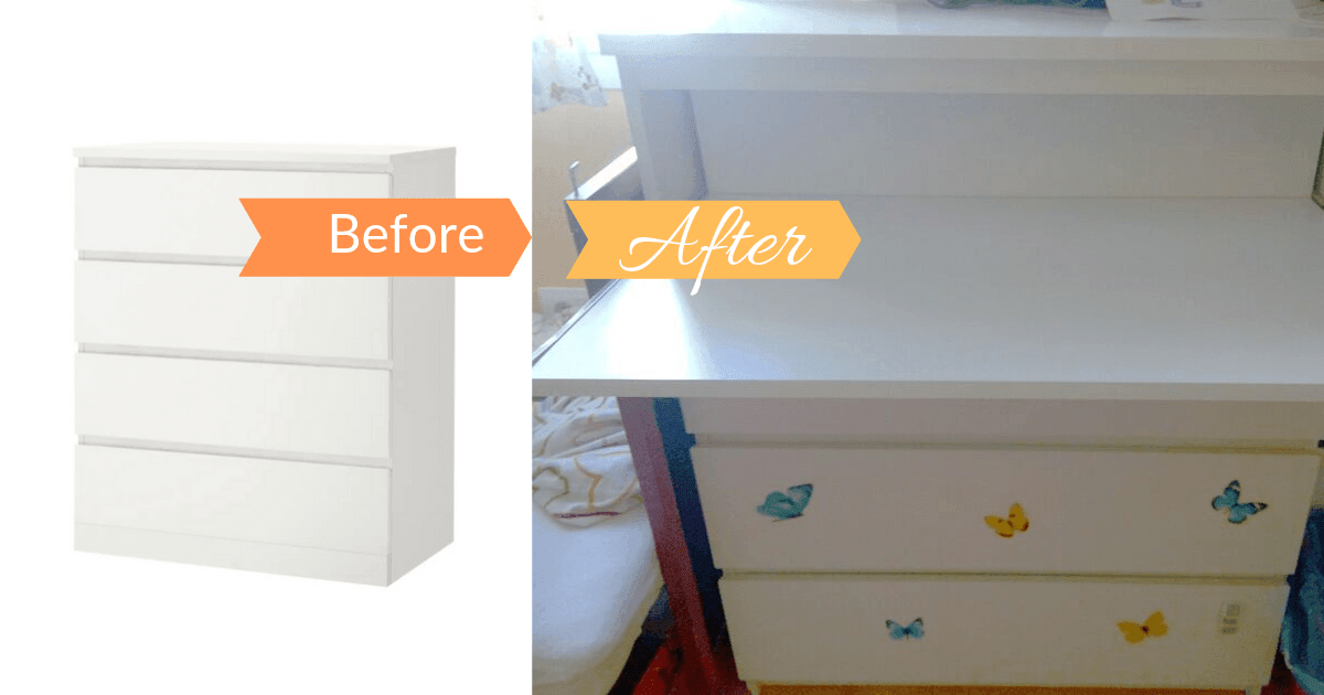 ikea drawer with desk
