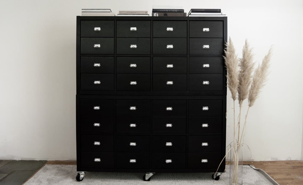 10 of the most clever IKEA Ideas of 2019 - card catalog