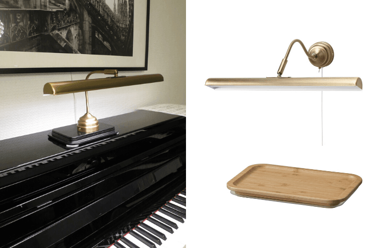 piano lamp ikea