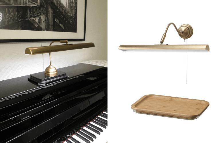 piano lamp ikea