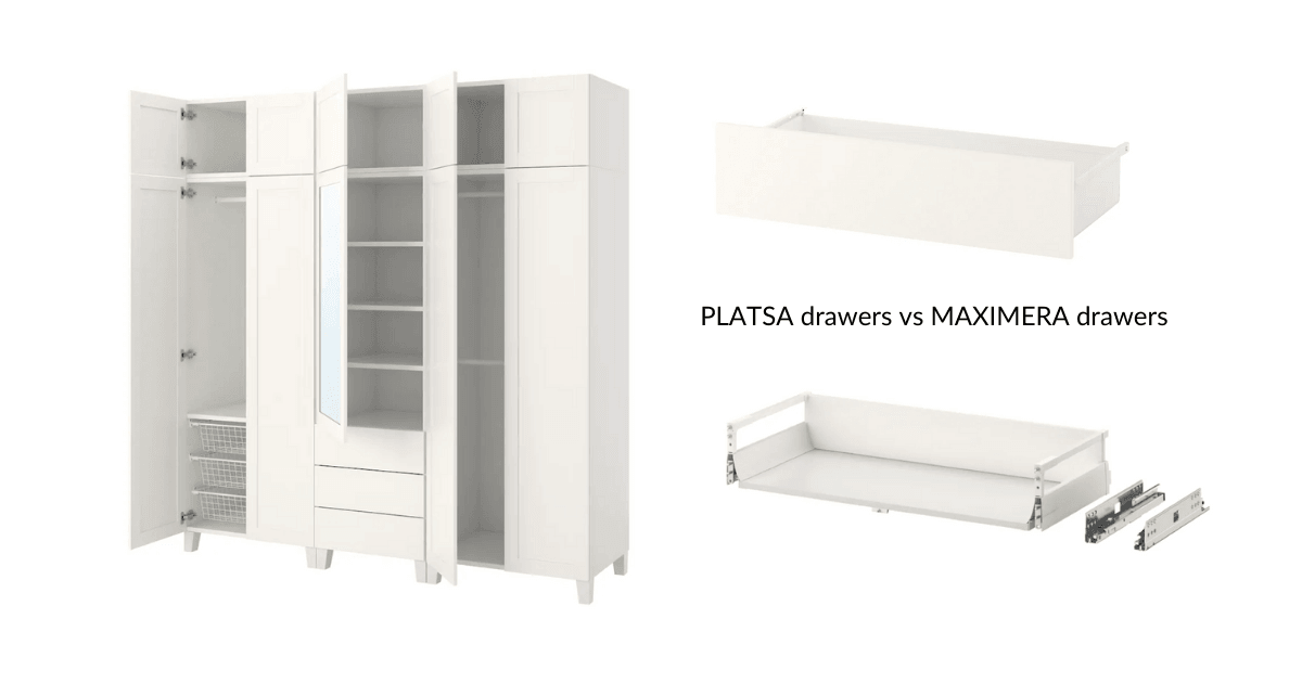 platsa drawers options