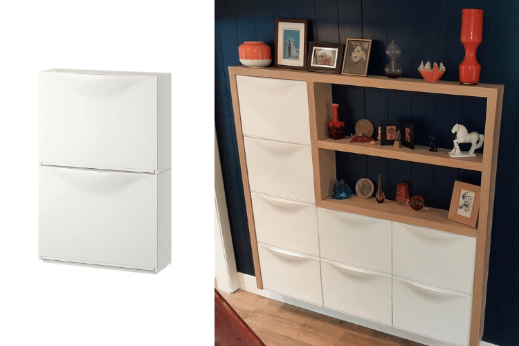 trones display router cabinet