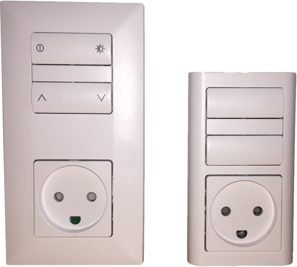 TRÅDFRI remote control integrated wall switch
