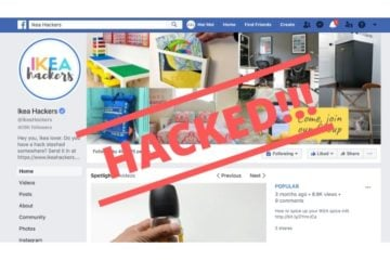 fb page hacked