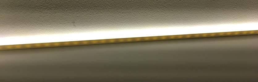 adding LED strips - illuminated bookshelf IKEA BESTA and LACK