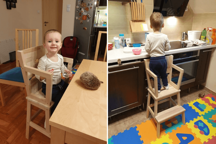 learning tower high chair ikea step stool hack