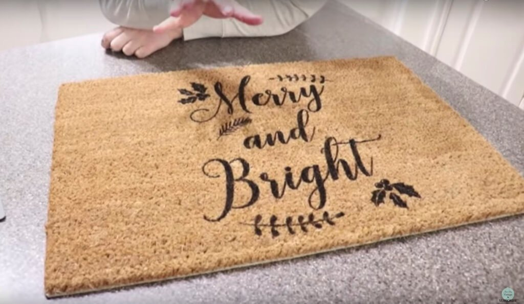 Christmas mat
