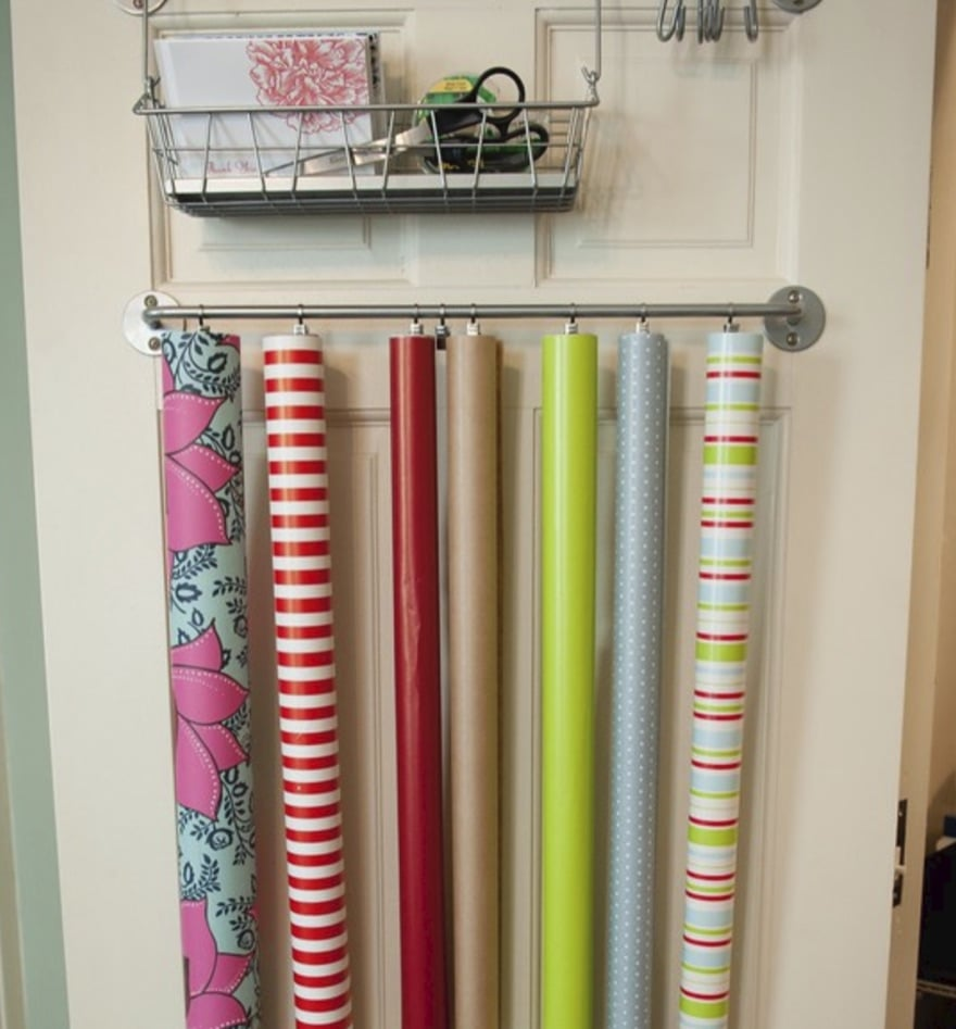 6 best gift wrap storage ideas