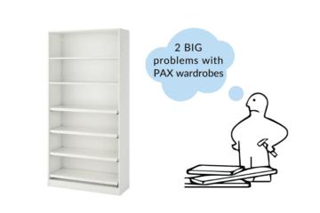pax wardrobe problems