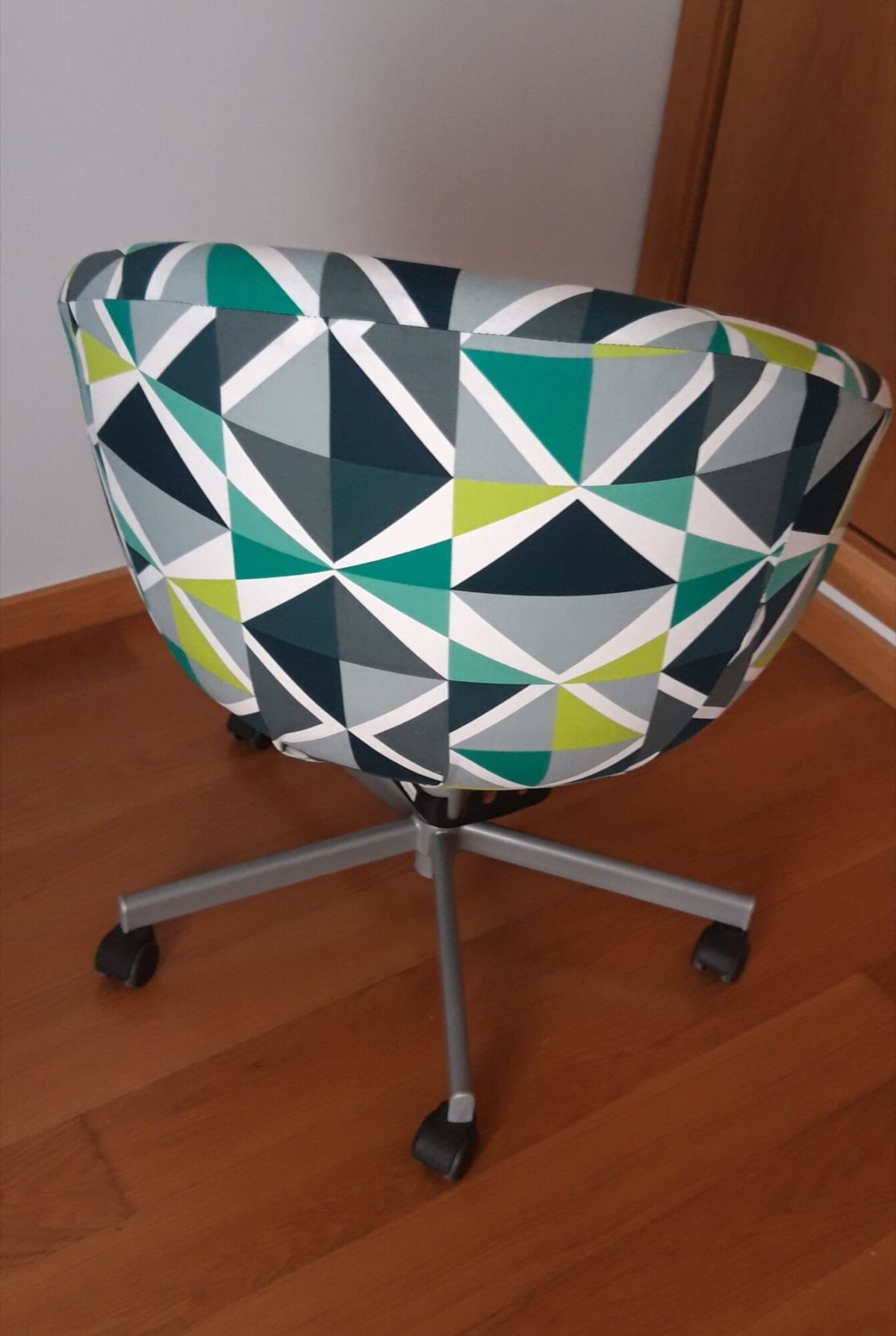 IKEA SKRUVSTA chair cover, reupholstery, replacement cover