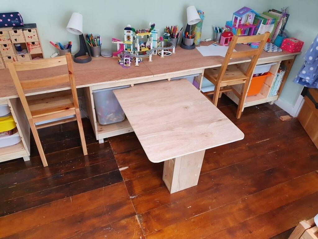 TROFAST IKEA children's desk and chairs