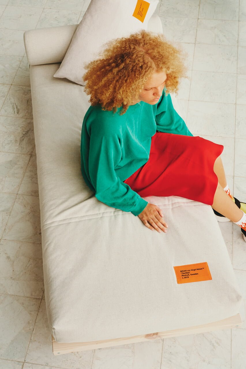 Virgil Abloh IKEA MARKERAD daybed