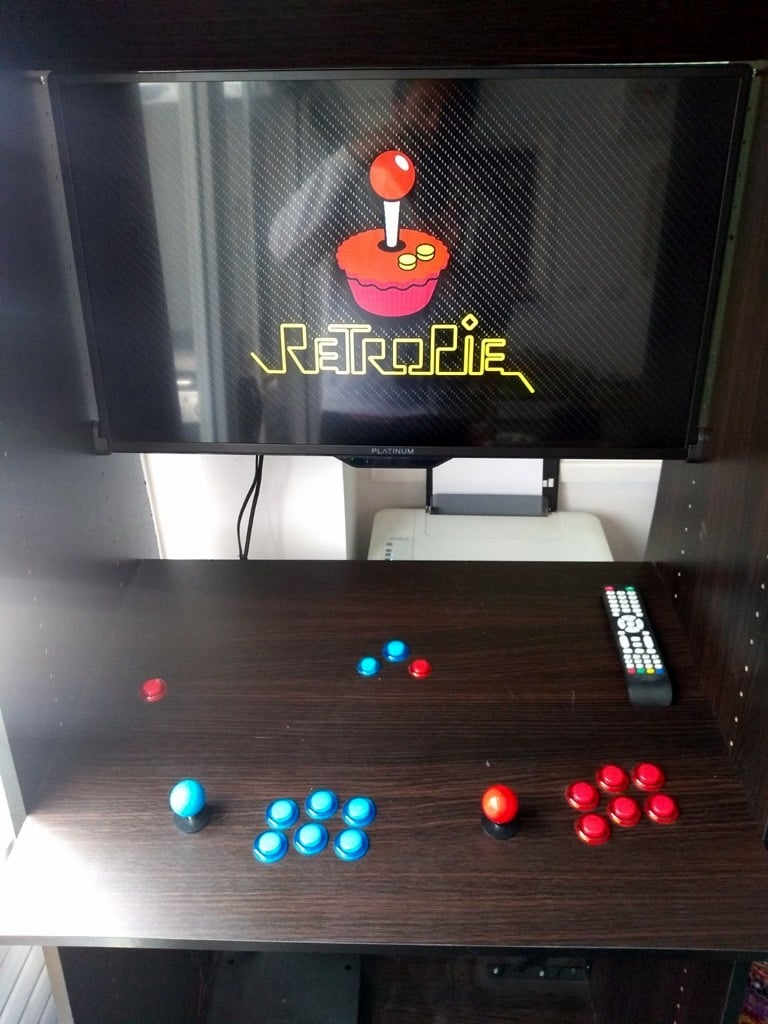 retro arcade machine ikea hack
