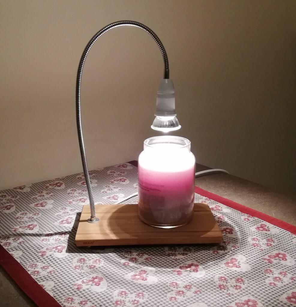 DIY candle warmer lamp - IKEA Hack