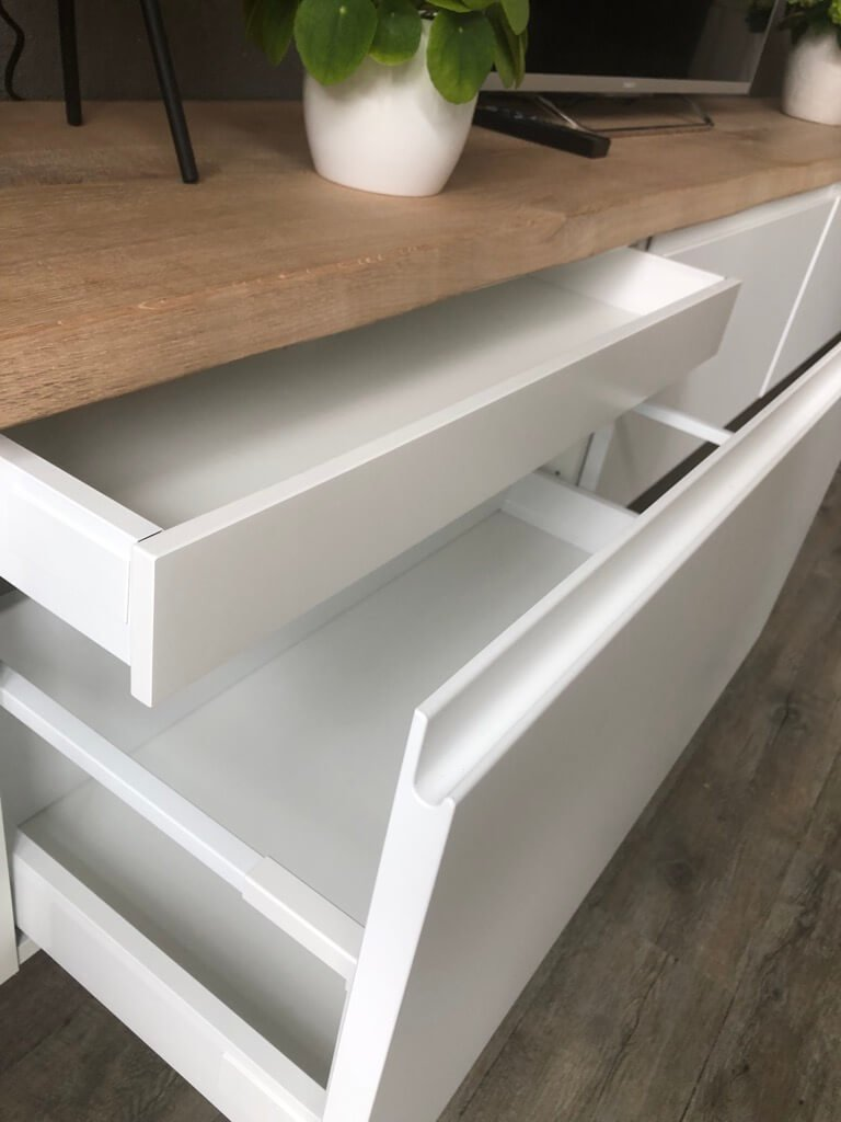 drawers for TV unit