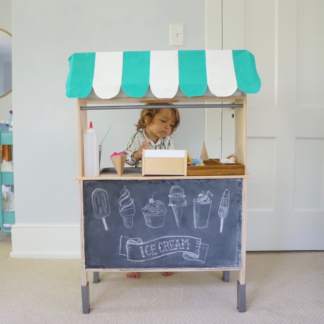 ikea duktig play kitchen ice cream stand