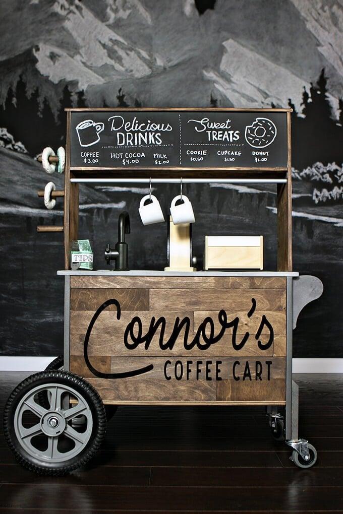 ikea duktig play kitchen coffee cart