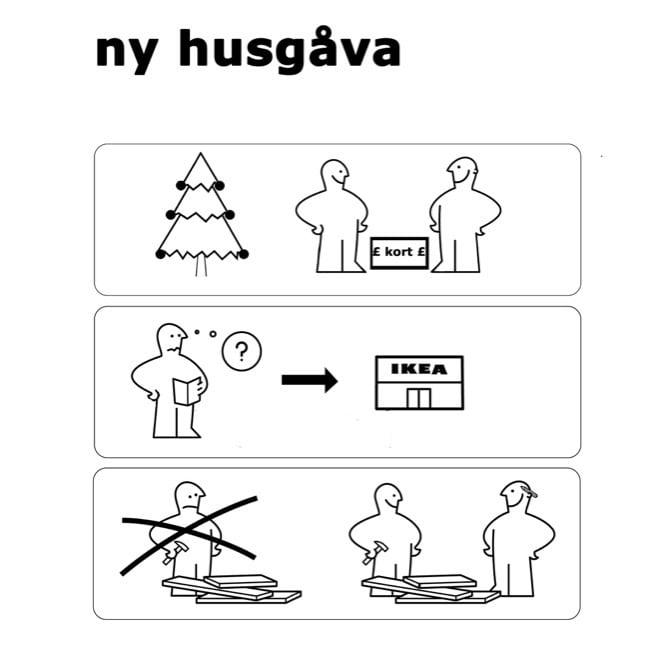 IKEA Gift Card Tag for Christmas
