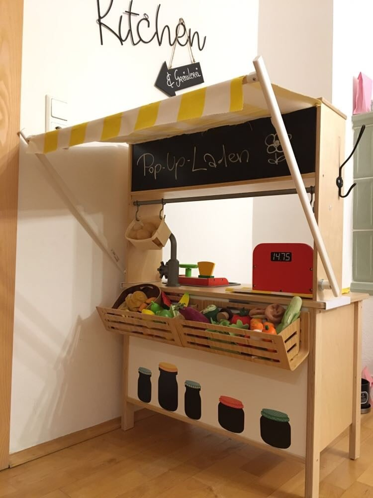 ikea duktig play kitchen pop up store