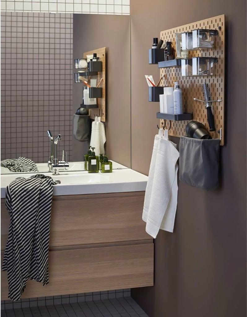 IKEA SKDIS pegboard ideas