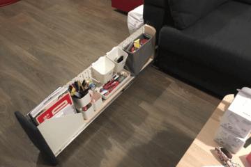 sofa storage armrest