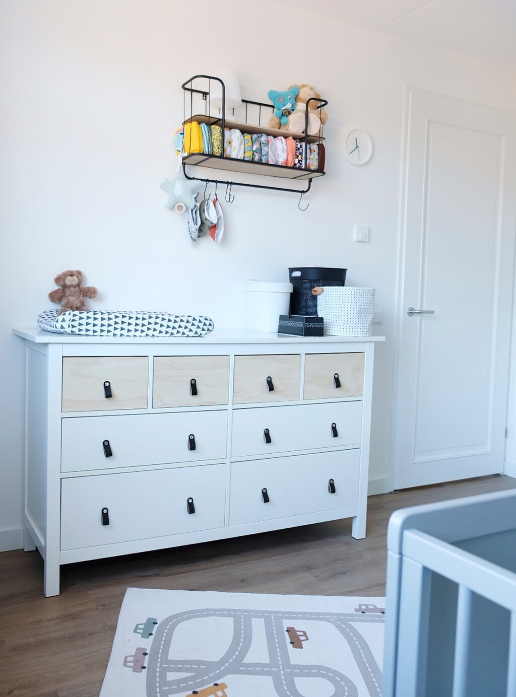 HEMNES chest with plywood drawer fronts