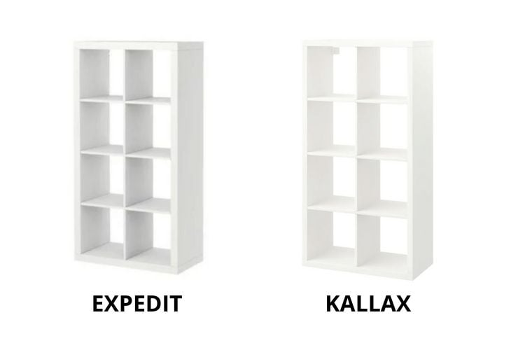 EXPEDIT vs KALLAX