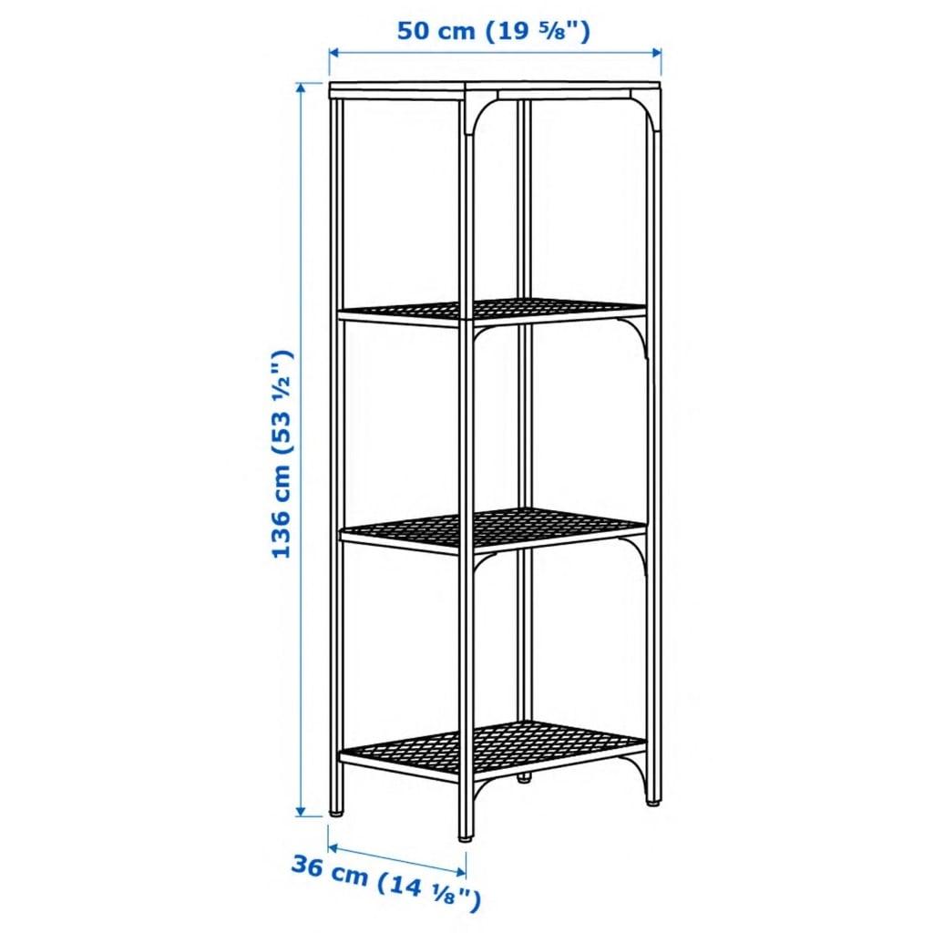 FJALLBO shelf unit