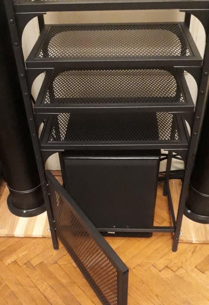 FJÄLLBO DIY audio rack