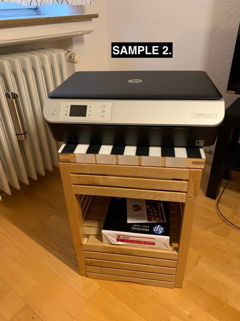 IKEA MOLGER printer stand