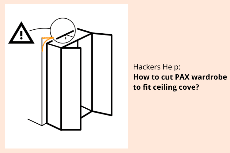 pax ceiling coving