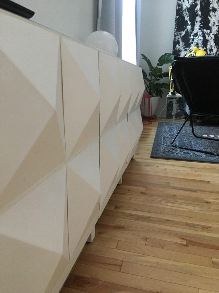 DIY BESTÅ custom doors