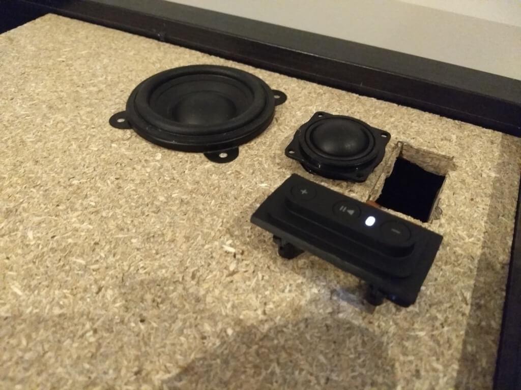 IKEA SYMFONISK folded horn speaker