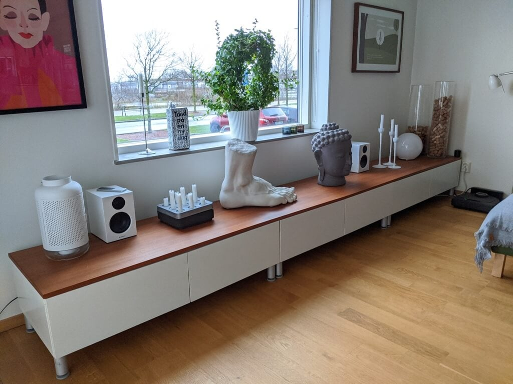 IKEA with JBL speakers