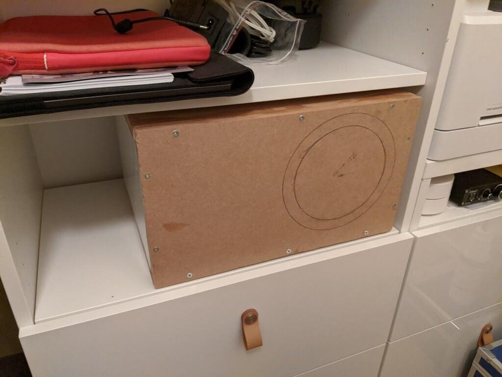 box for speaker
