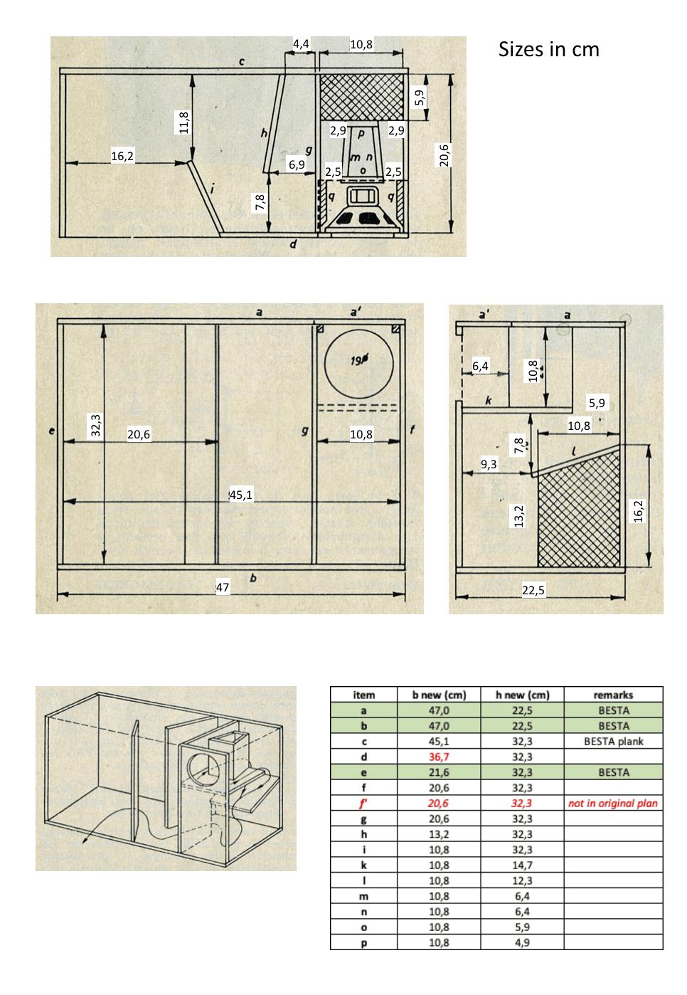 IKEA SYMFONISK folded horn speaker plan