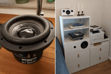 built-in speaker shelf ikea besta