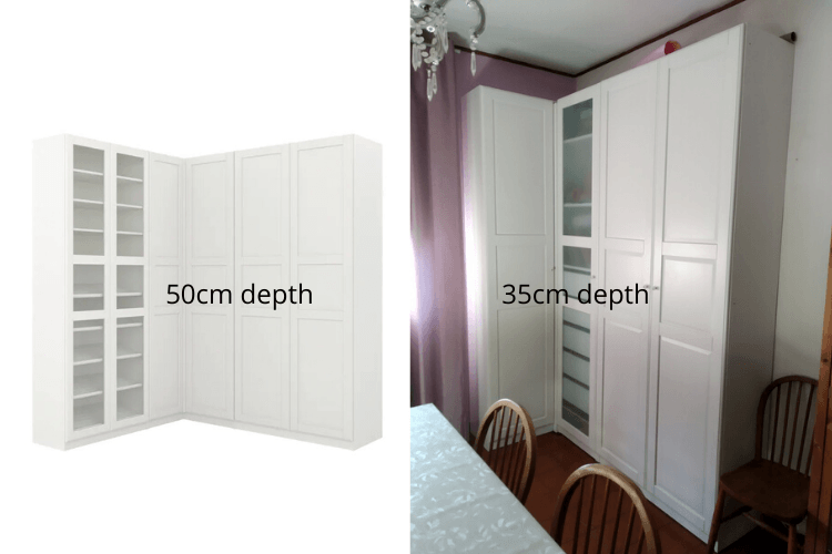 ikea corner wardrobe pax