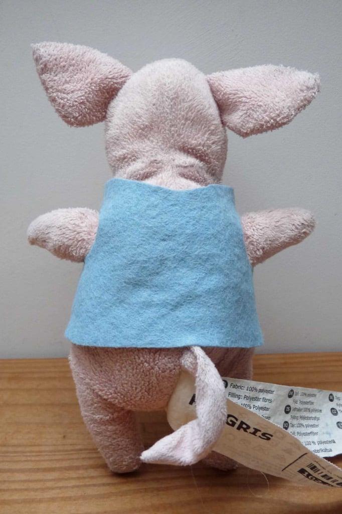 IKEA Pigs waistcoat pattern
