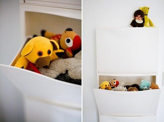 TRONES wall mounted shoe cabinet - kids room storage