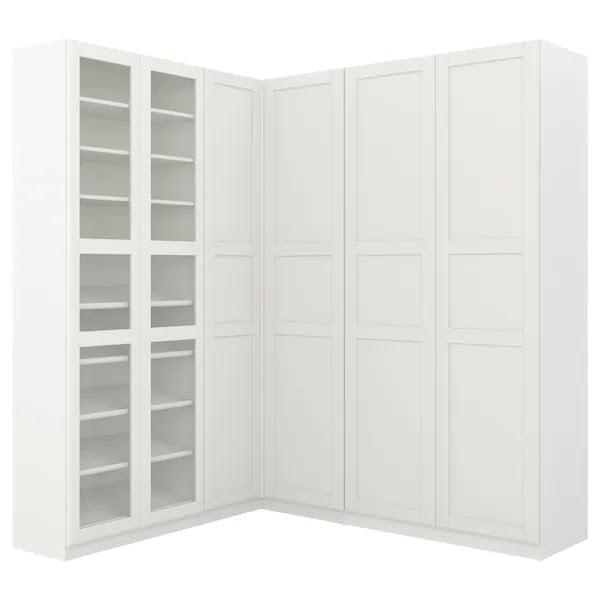 PAX corner wardrobe 50mm