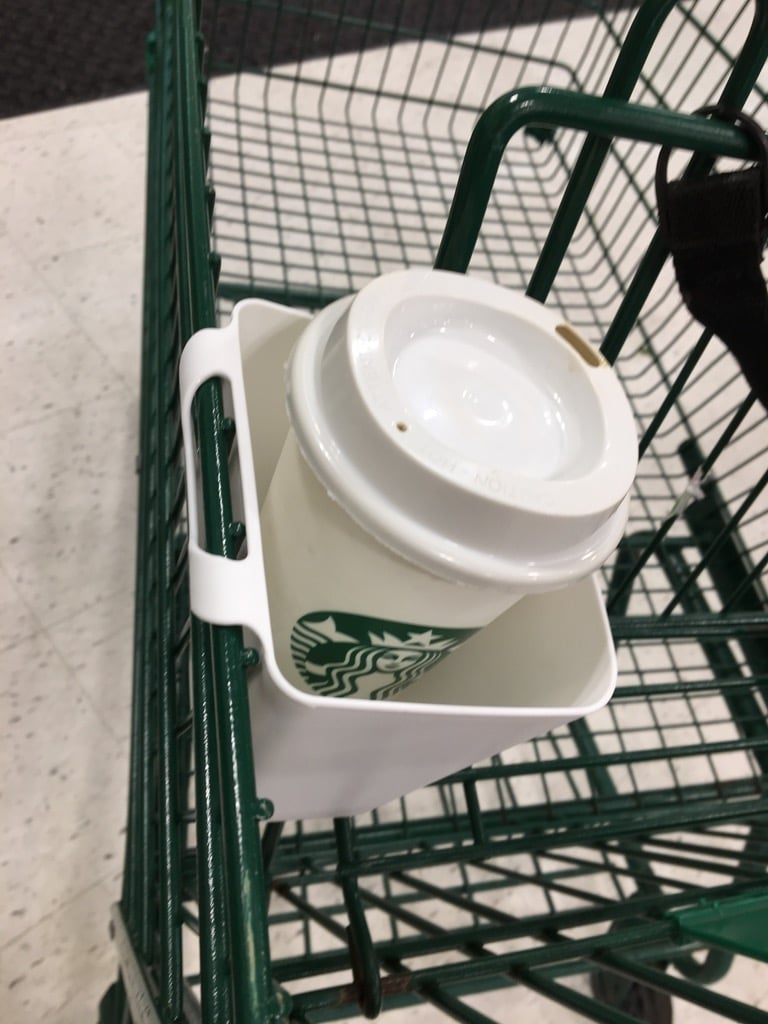 coffee caddy sunnersta shopping cart cup holder